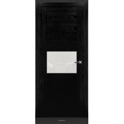 RADA Межкомнатные двери Bruno исполнение 2 ДО1 Noir - (Черная эмаль)