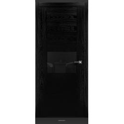 RADA Межкомнатные двери Bruno исполнение 2 ДО2 Noir - (Черная эмаль)