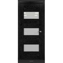 RADA Межкомнатные двери Polo исполнение 1 ДО Вариант 1 Noir - (Черная эмаль)