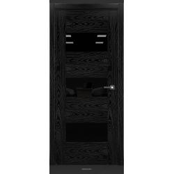 RADA Межкомнатные двери Polo исполнение 1 ДО Вариант 2 Noir - (Черная эмаль)