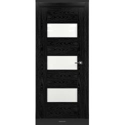 RADA Межкомнатные двери Polo исполнение 1 ДО Вариант 11 Noir - (Черная эмаль)