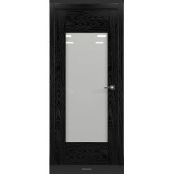 RADA Межкомнатные двери Polo исполнение 2 ДО Вариант 1 Noir - (Черная эмаль)