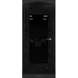 RADA Межкомнатные двери Polo исполнение 2 ДО Вариант 2 Noir - (Черная эмаль)