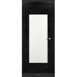 RADA Межкомнатные двери Polo исполнение 2 ДО Вариант 11 Noir - (Черная эмаль)