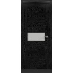 RADA Межкомнатные двери Polo исполнение 3 ДО Вариант 1 Noir - (Черная эмаль)