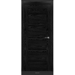 RADA Межкомнатные двери Polo исполнение 4 ДО Вариант 2 Noir - (Черная эмаль)