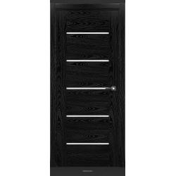 RADA Межкомнатные двери Polo исполнение 4 ДО Вариант 11 Noir - (Черная эмаль)