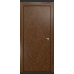 RADA Межкомнатные двери CRISTAL Тёмный орех