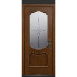 RADA Межкомнатные двери Верона ДО1 Дуб коньяк