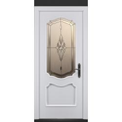 RADA Межкомнатные двери Верона ДО2 Blanc - (Белая эмаль)
