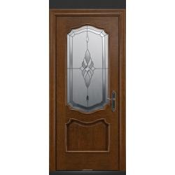 RADA Межкомнатные двери Верона ДО2 Дуб коньяк