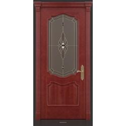 RADA Межкомнатные двери Верона ДО2 Красное дерево