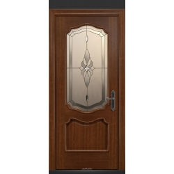 RADA Межкомнатные двери Верона ДО2 Макоре золотая