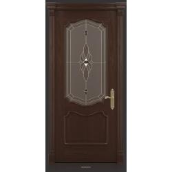 RADA Межкомнатные двери Верона ДО2 Табако тангенс (св)