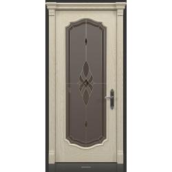 RADA Межкомнатные двери Верона исп2 ДО Белое золото ГОЛД