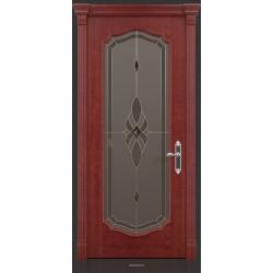 RADA Межкомнатные двери Верона исп2 ДО Красное дерево