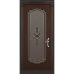 RADA Межкомнатные двери Верона исп2 ДО Табако тангенс (св)