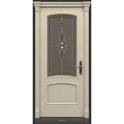 RADA Межкомнатные двери Флоренция ДО Белое золото ГОЛД