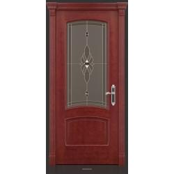 RADA Межкомнатные двери Флоренция ДО Красное дерево