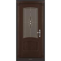 RADA Межкомнатные двери Флоренция ДО Табако тангенс (св)