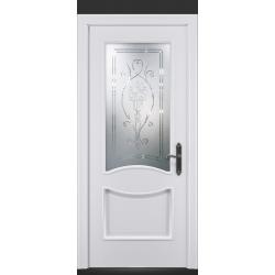 RADA Межкомнатные двери Барселона ДО1 Blanc - (Белая эмаль)