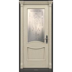 RADA Межкомнатные двери Барселона ДО1 Белое золото ГОЛД