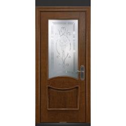 RADA Межкомнатные двери Барселона ДО1 Дуб коньяк