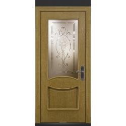 RADA Межкомнатные двери Барселона ДО1 Дуб натуральный