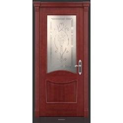 RADA Межкомнатные двери Барселона ДО1 Красное дерево
