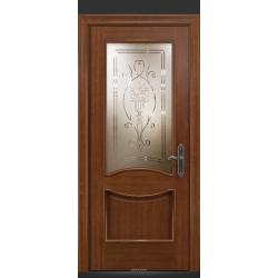RADA Межкомнатные двери Барселона ДО1 Макоре золотая