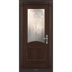 RADA Межкомнатные двери Барселона ДО1 Табако тангенс (св)