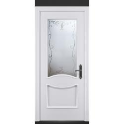 RADA Межкомнатные двери Барселона ДО15 Blanc - (Белая эмаль)