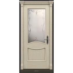 RADA Межкомнатные двери Барселона ДО15 Белое золото ГОЛД