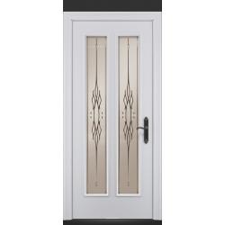 RADA Межкомнатные двери Монреаль ДО1 Blanc - (Белая эмаль)