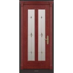 RADA Межкомнатные двери Монреаль ДО2 Красное дерево