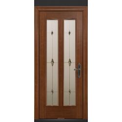 RADA Межкомнатные двери Монреаль ДО2 Макоре золотая