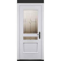 RADA Межкомнатные двери Палермо исп1 ДО1 Blanc - (Белая эмаль)