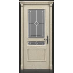 RADA Межкомнатные двери Палермо исп1 ДО1 Белое золото ГОЛД