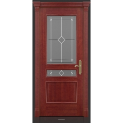 RADA Межкомнатные двери Палермо исп1 ДО1 Красное дерево