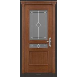 RADA Межкомнатные двери Палермо исп1 ДО1 Макоре золотая