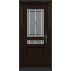 RADA Межкомнатные двери Палермо исп1 ДО1 Табако тангенс (св)