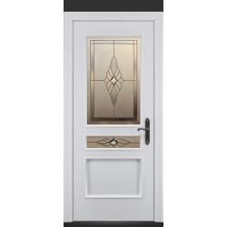 RADA Межкомнатные двери Палермо исп1 ДО2 Blanc - (Белая эмаль)