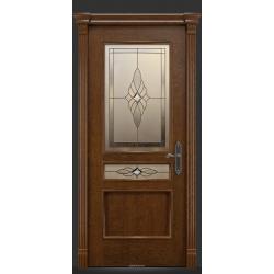 RADA Межкомнатные двери Палермо исп1 ДО2 Дуб коньяк