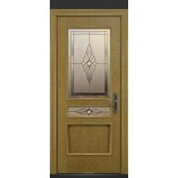 RADA Межкомнатные двери Палермо исп1 ДО2 Дуб натуральный