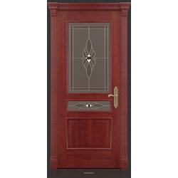 RADA Межкомнатные двери Палермо исп1 ДО2 Красное дерево