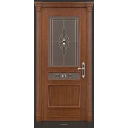 RADA Межкомнатные двери Палермо исп1 ДО2 Макоре золотая