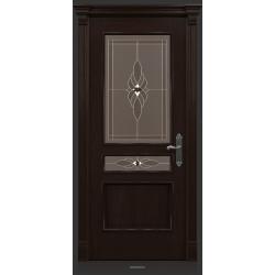 RADA Межкомнатные двери Палермо исп1 ДО2 Табако тангенс (св)