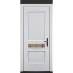 RADA Межкомнатные двери Палермо исп2 ДО1 Blanc - (Белая эмаль)