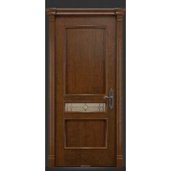 RADA Межкомнатные двери Палермо исп2 ДО1 Дуб коньяк