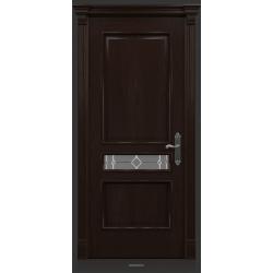 RADA Межкомнатные двери Палермо исп2 ДО1 Табако тангенс (св)